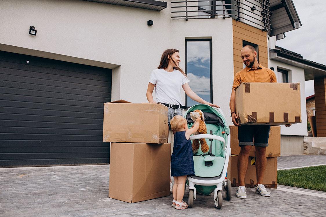Ką reikia būtinai atlikti prieš persikraustant į naujus namus?