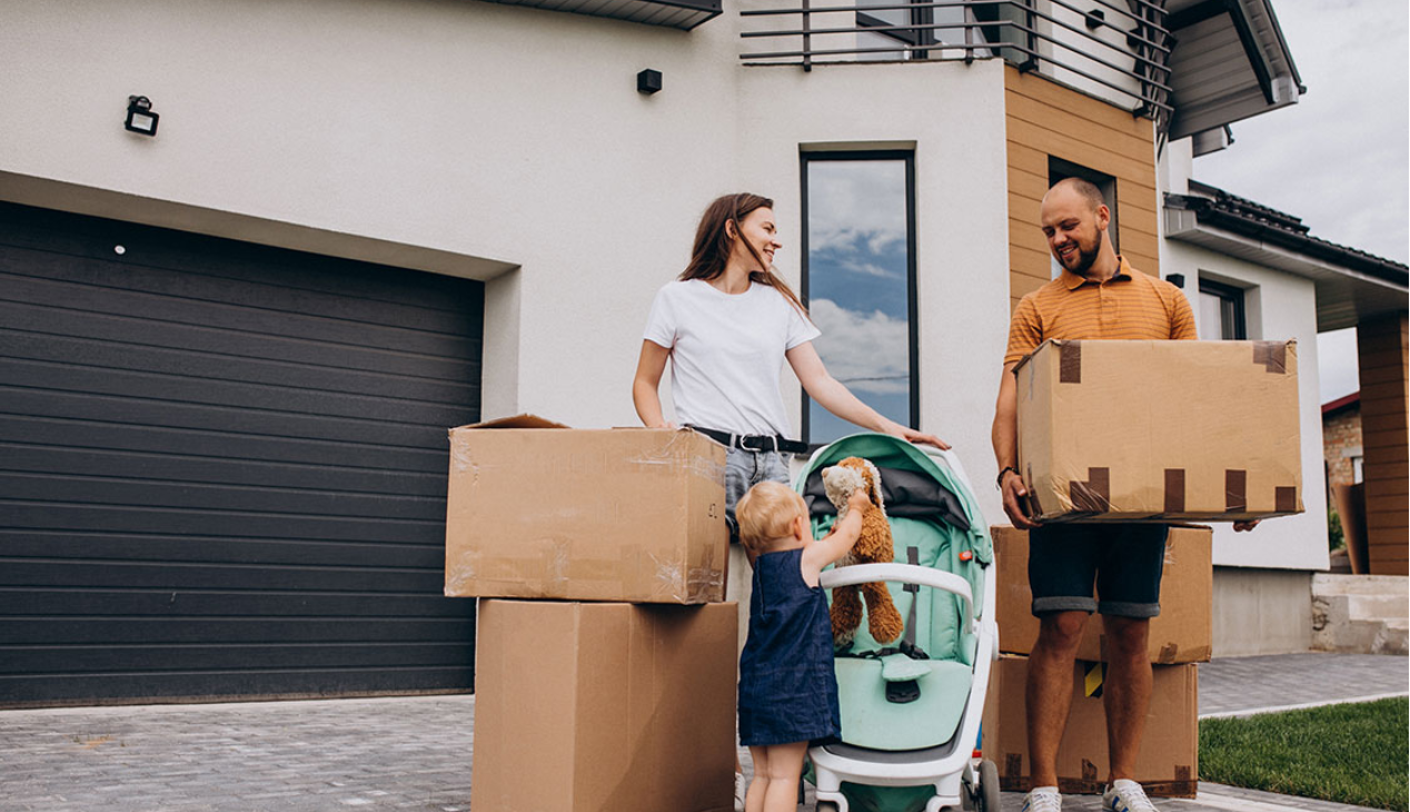 What should be done before moving to a new home?