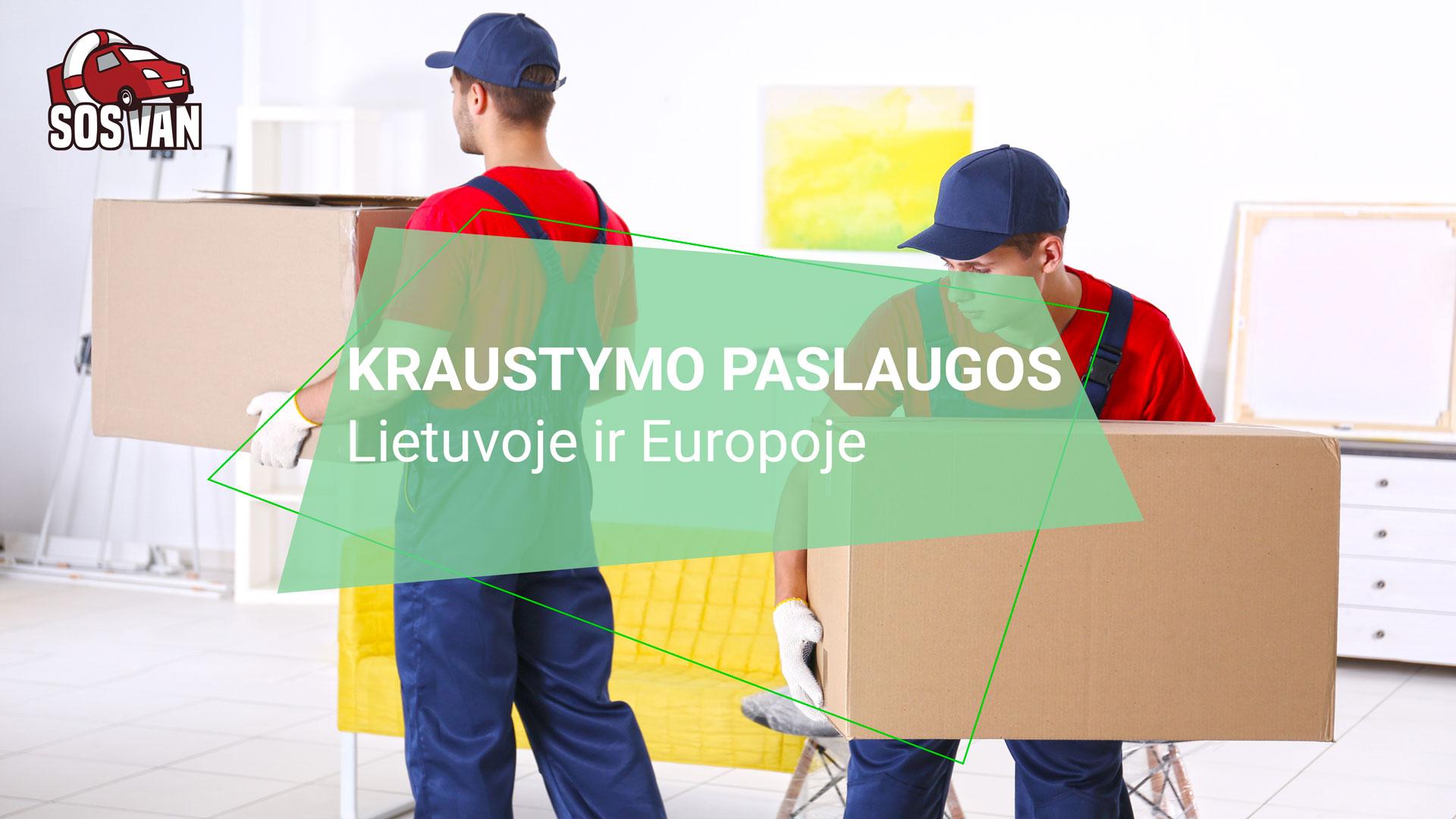 Kraustymo paslaugos | Siuntų pervežimas ne tik Lietuvoje - SOSAVAN